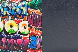 GRAFFITI Y NEGRO